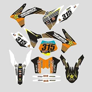 JFG Racing Custom Motocicleta Calcomanías Adhesivas Completas Pegatinas Kit de Gráficos para K.T.M 125 150 250 350 450 SX SX-F SXF XC XC-F XCF 2011 2012