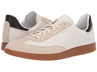 Cole Haan Grandpro Turf Sneaker (Ivory Tumbled/Pumice Stone Suede) Men
