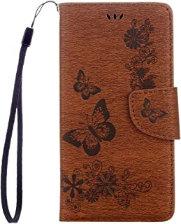 Mobile Phone Cases for Huawei Honor 5c Pressed Flowers Butterfly Pattern Horizontal Flip Leather Case with Holder & Card S...