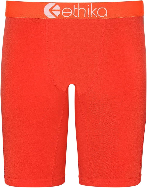 Ethika Boys Staple Boxer Briefs | Native Orange