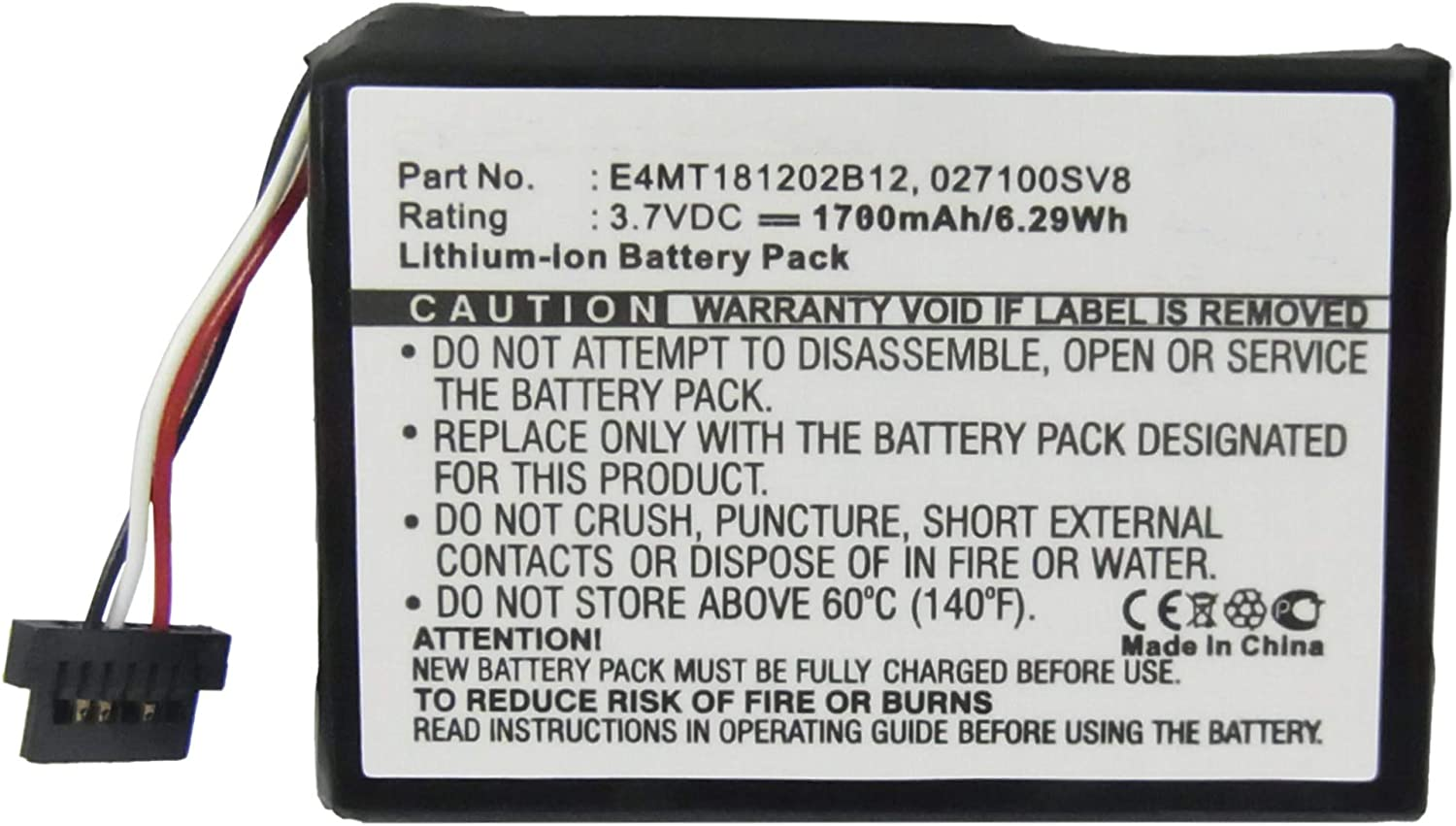 Synergy Digital GPS Battery Works E4MT181202B12 Magellan with G Cheap Max 67% OFF sale
