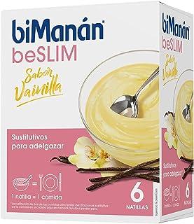Bimanán Sustitutive Natillas Sabor Vainilla 5 sobres más 1 gratis