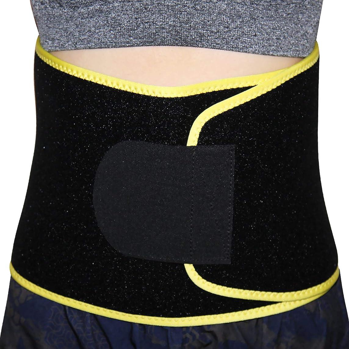 Voila Reve Waist Trimmer - Premium Wide Grip Slimming Belt Accelerates Weight Loss, Anti Allergy - Lower Back & Lumbar Support for Men & Women