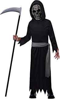 Suit Yourself Death Reaper Halloween Costume for Boys, Small, with Accessories