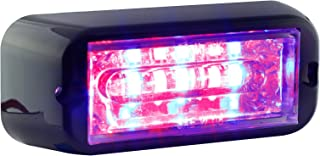 LAMPHUS CosmicRay CRLH06 LED Strobe Grille Flashing Lights [SAE Class 1] [72 Modes] [6 Watt] [Linear] [Weatherproof] Warning Lights for Police & Firefighter Emergency Vehicles - Blue/Red