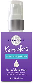 Keracolor Purple Toning Drops Concentrate To Create Your Own Purple Shampoo For Blonde Hair