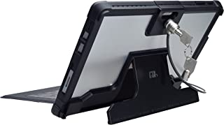 CTA Digital Security Case with Kickstand and Anti-Theft Cable for Surface Pro 4/Surface Pro 5 (PAD-SCKS)