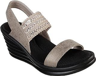 Rumblers Wave Chez Chic Womens Slingback Wedge Sandals