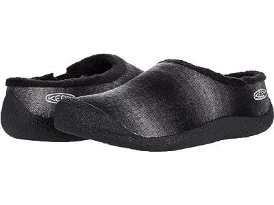 KEEN Howser Slide (Black Plaid/Dark Grey) Women