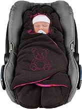 ByBoom Baby Winter-EinschlagdeckeDas Original mit dem Bären, Universal für Babyschale, Autositz, z.B. für Maxi-Cosi, Römer, für Kinderwagen, Buggy oder Babybett
