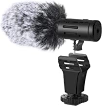 Bower Elite Stereo Microphone With Windscreen Shotgun For Canon EOS 60D
