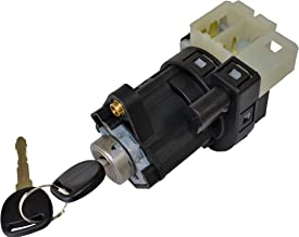 PT Auto Warehouse ISS-271WC - Ignition Starter Switch with Lock Cylinder and 2 Keys