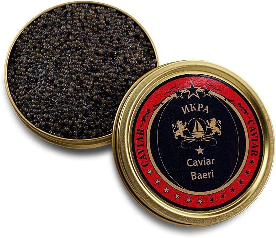 Caviar siberiano (huevas de esturión) (250g)