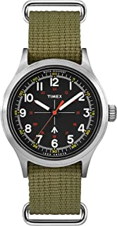 x Todd Snyder Military Inspired 40mm Fabric Strap Watch