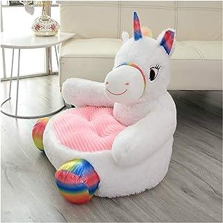 Plush toys Plush Seat Soft Toys Stuffed Animals Plush Panda Duck Bear Doll Kids Seat Feeding Chair Big Unicorn Toys (Color...