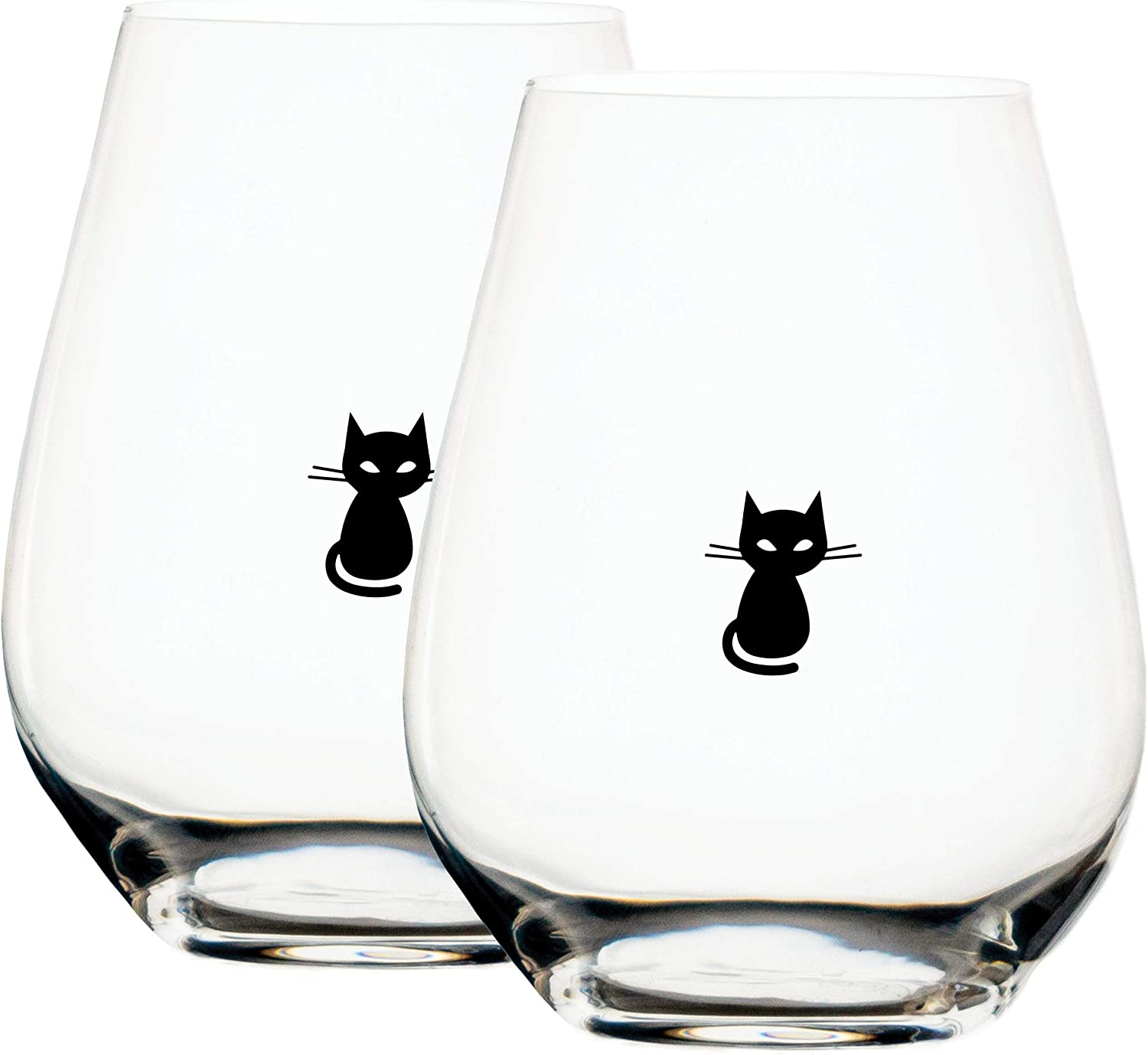 Large Purrfect Pour Cat Philadelphia High quality Mall Stemless With Glass Wine Measuring