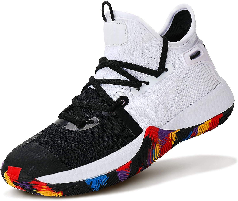 Award-winning Ranking TOP13 store WETIKE Boys Basketball Shoes Non-Slip Sneakers Kid Girls Durable