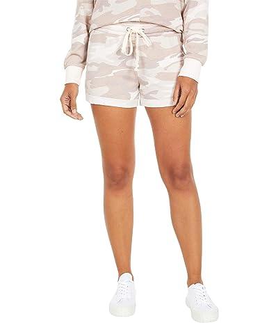 Alternative Cozy Lightweight French Terry Shorts (Blush Camo) Women