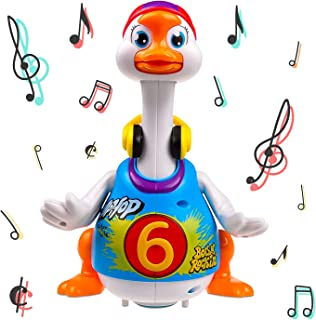 Sponsored Ad - Walking, Talking, Singing and Dancing Musical Hip Hop Goose TG656 – Cool Dancing Toy for Boys and Girls Kid...