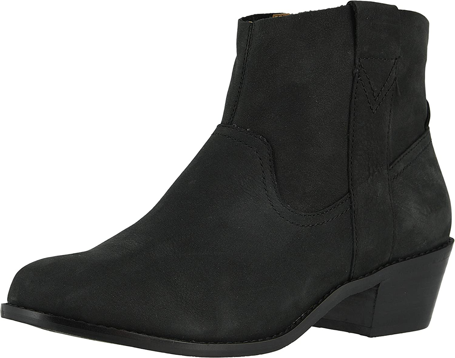 Vionic Women's Joy Roselyn Ankle Booties - Ladies Comfortable Western Walking Boots with Concealed Orthotic Arch Support