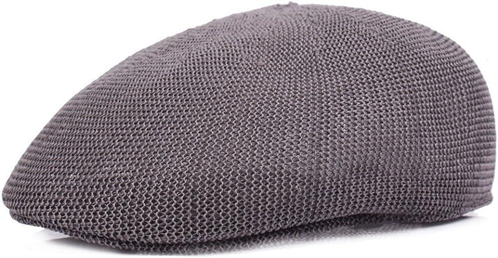 RICHTOER Men Breathable Free Shipping Cheap Bargain Gift Comfort Max 54% OFF Mesh Summer Iv Beret Hat Newsboy