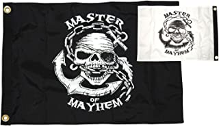 featured product Taylor Made Products Pirate Heads Master of Mayhem Flags