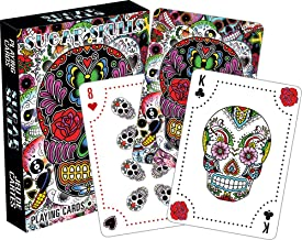 Aquarius Sugar Skulls Playing Cards