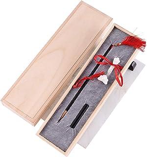 Chinese Calligraphy Brush, Sumi Brush Writing/Painting Brushes, Japanese Sumi Wolf Hair Black Sandalwood Brushes Set, for ...