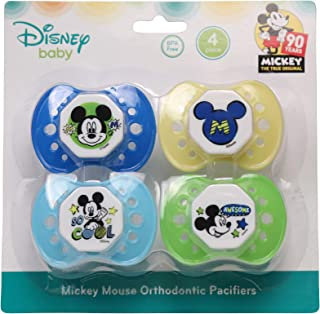 Disney Disney Mickey Mouse 4 Pack Pacifiers