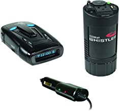 Whistler KITWHIRD93PINLR Laser/Radar Detector INTELLICORD Power Cable and XP Series 150-Watt-Continuous Cup-Holder Power I...