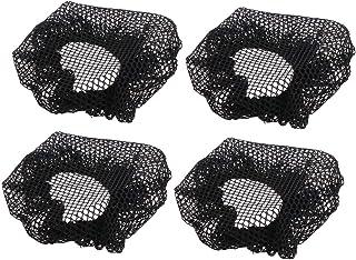 Healifty 20個ウィッグキャップアンチスリップメッシュウィッグキャップ女性のための男性の子供たちの衣装ファンシーボールアイスホッケー(黒)