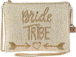 Mary Frances Bride Tribe Beaded Crossbody Handbag