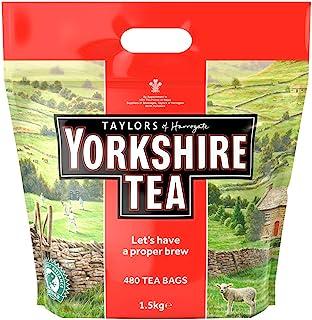 Taylors of Harrogate Yorkshire Tea 480 Btl. 1,5 kg – svart tepåse