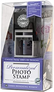 Three Designing Women Custom Self-Inking Photo Stamp