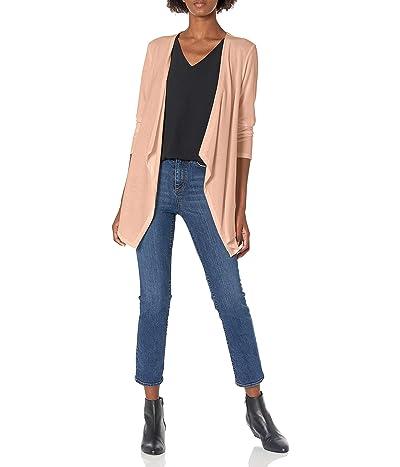 Calvin Klein Long Sleeve Flyway Knit Blouse