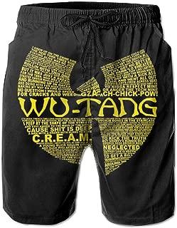 Men's Swim Trunks Wu-Tang Quick Dry Board Shorts Bathing Suits Swimwear