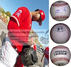 Felix Pena Los Angeles Angels Autographed Hand Signed Baseball with Exact Proof Photo of Signing and COA, Chicago Cubs