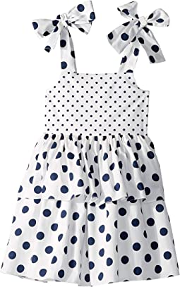 Polka Dot Day Dress (Toddler/Little Kids/Big Kids)
