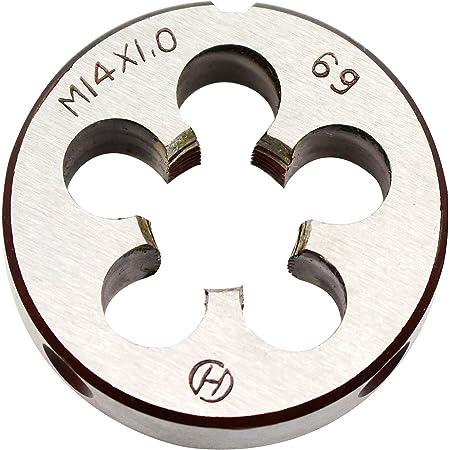 M14 x 1.50 X 1-1//2 HIGH SPEED STEEL ROUND ADJUSTABLE DIE