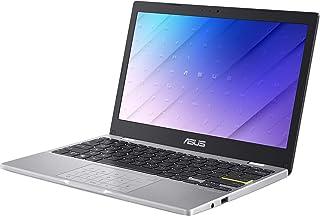 ASUS 軽量 小型 ノートパソコンE210MA(インテル Celeron N4020 / 4GB, 64GB / 約1.08kg / 11.6インチ / Webカメラ / バッテリー駆動約12.7時間 / ドリーミーホワイト / Window...