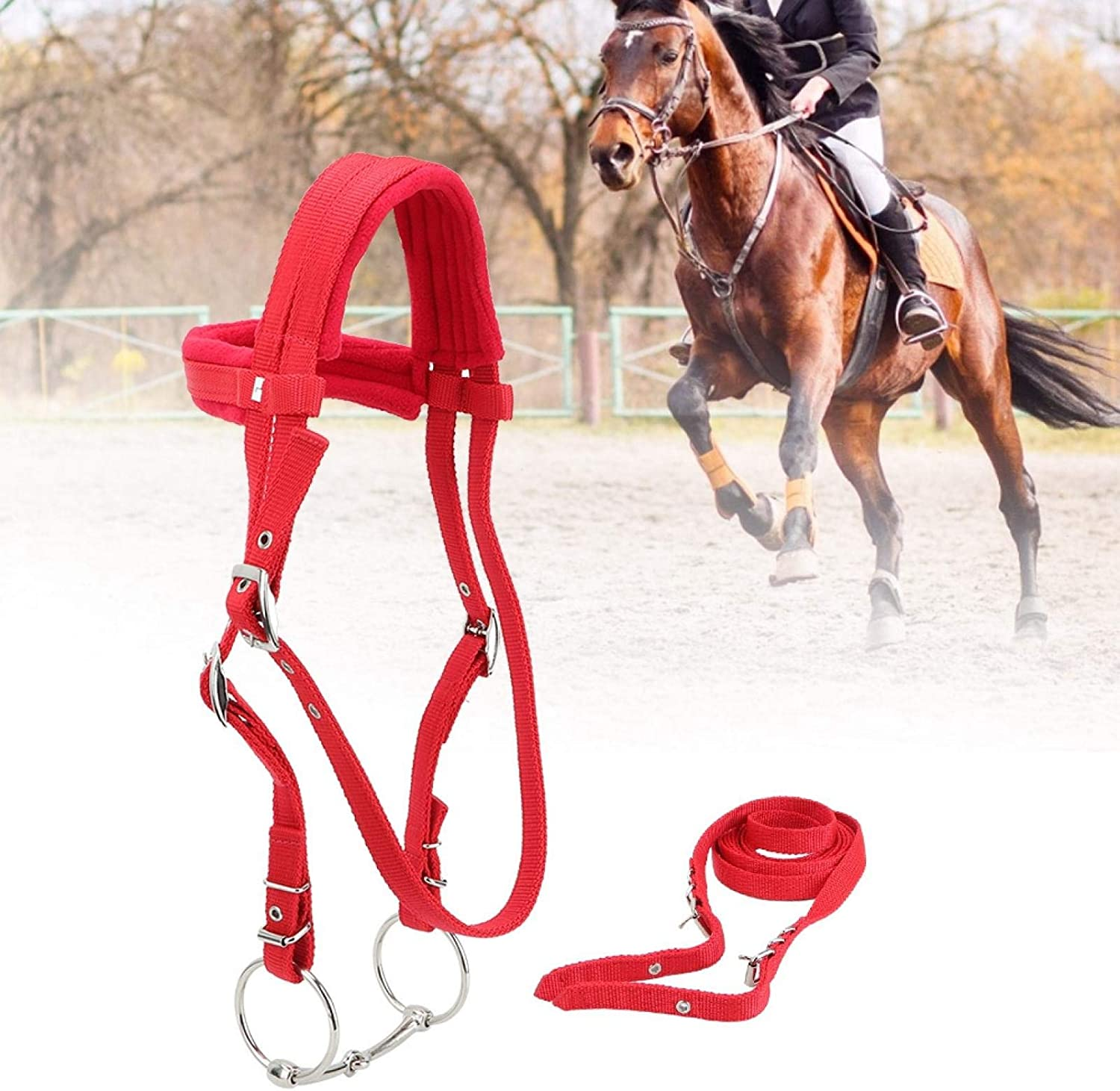 SALUTUYA Adjustable Horse Harness Durable Max 52% OFF i New popularity Removable Horses for