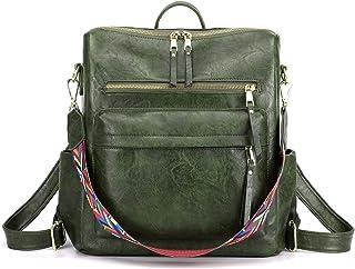 Women's Fashion Backpack Purses Multipurpose Design Handbags and Shoulder Bag PU Leather Travel bag