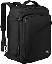 Matein Carry on Backpack, Extra Large Travel Backpack Expandable Airplane Approved Weekender Bag for Men and Women, Water ...