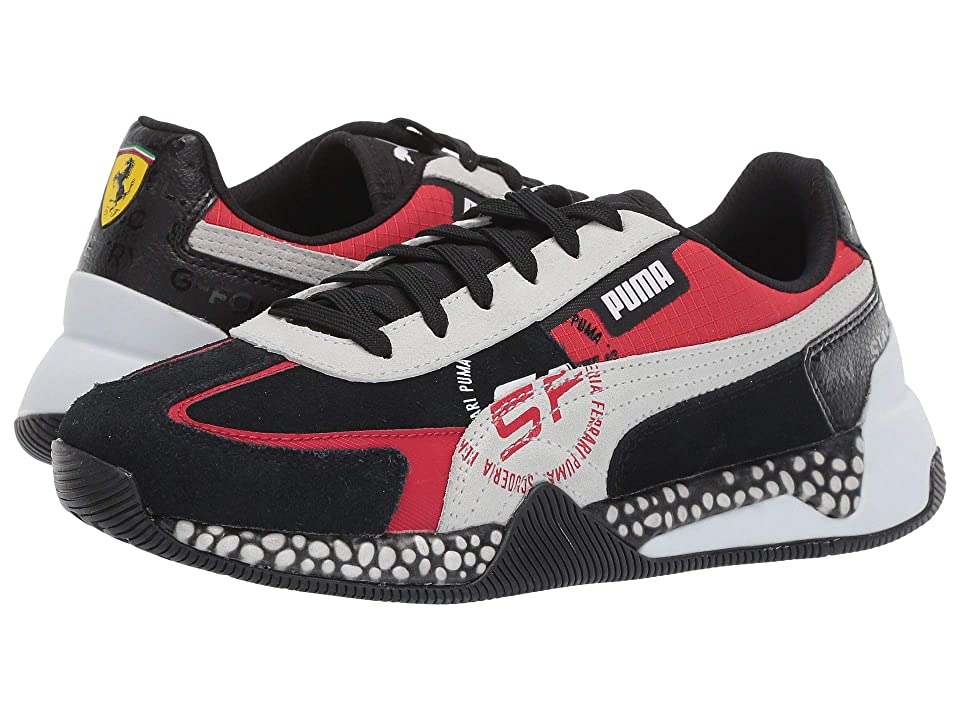PUMA Ferrari Speed Hybrid (Puma Black/Puma White/Rosso Corsa) Shoes