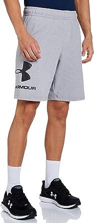 Under Armour Sportieve shorts met logo, voor heren