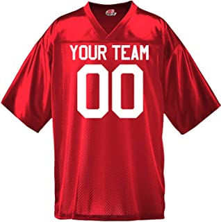 0403ab6033a8a Custom Football Jersey for Youth and Adult You Design Online with Your  Names and Numbers