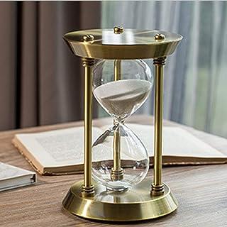 アンティーク風砂時計 ブロンズ 白砂 30分 オフィス 店舗 おうちのリビング インテリア 贈り物として…