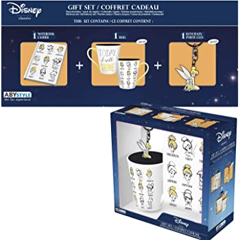 ABYstyle - Disney - Peter Pan - Caja de Regalo Campanilla - Taza ...
