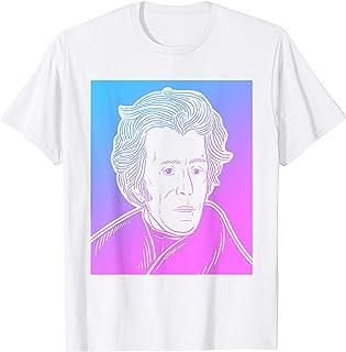 Vaporwave Andrew Jackson T-Shirt - Asthetic Pastel Goth