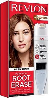 Revlon Root Erase Permanent Hair Color, Root Touchup Hair Dye, Dark Auburn/Reddish Brown, 3.2 Fluid Ounce